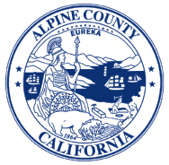 Alpine County California logo