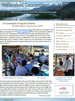 2018 Summer Newsletter Cover